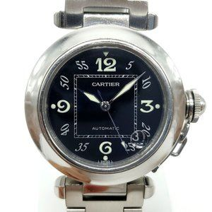 Cartier Pasha C Automatic Watch 35mm Stainless